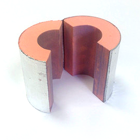 Insulated Pipe Supports Chilled Water Pipe Blocks