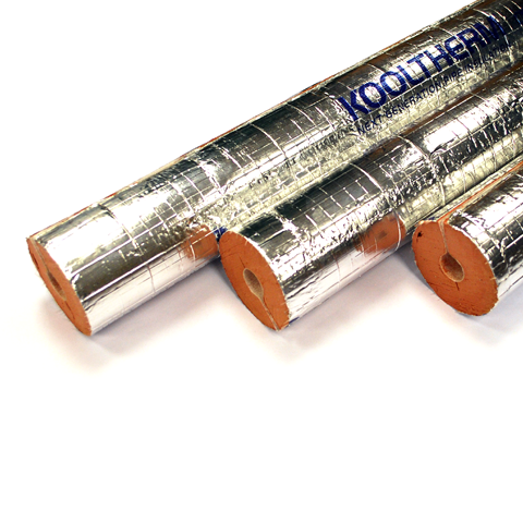 Kingspan Phenolic Foam Pipe Insulation - 1000mm Lengths