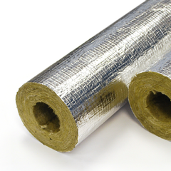 Rockwool Pipe Insulation - 1000mm Lengths