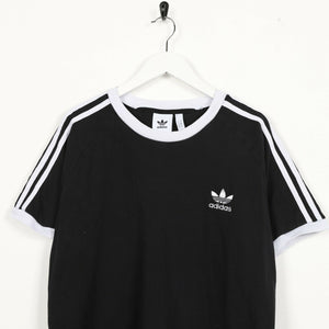 Vintage ADIDAS ORIGINALS Small Logo T Shirt Tee Black | Large L