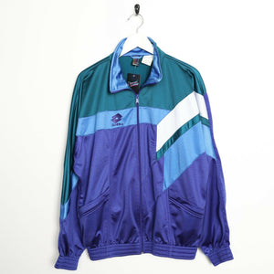 Vintage LOTTO Small Logo Tracksuit Top Jacket Large L