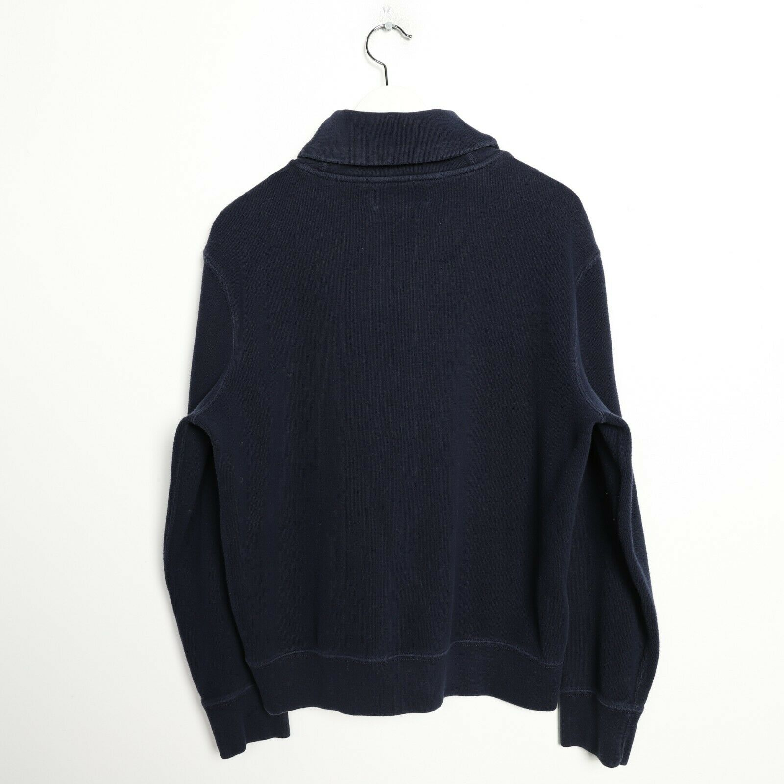 Vintage Women's RALPH LAUREN Roll Neck Sweatshirt Jumper Blue | Large L