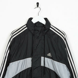 Vintage ADIDAS Padded Coat Jacket Black | Medium M