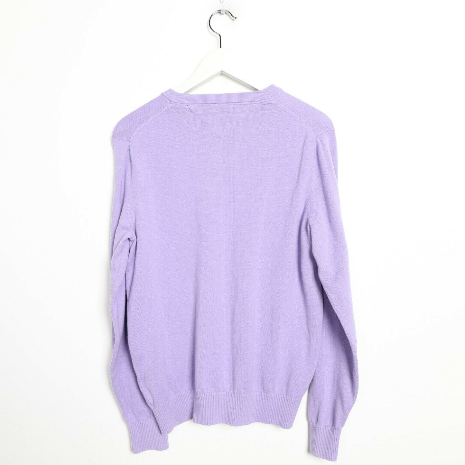 Vintage TOMMY HILFIGER Lightweight Sweatshirt Jumper Purple Small S