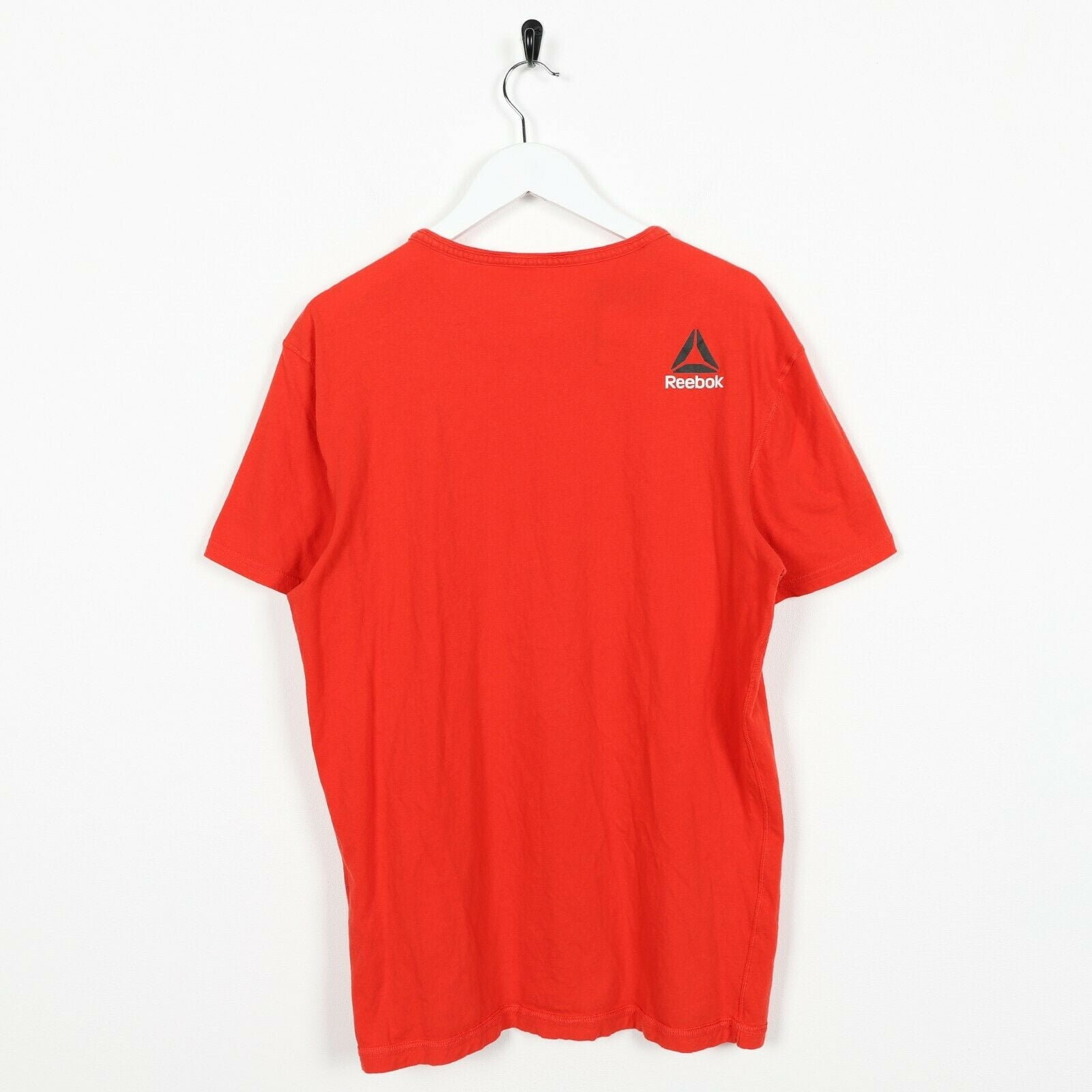 Vintage REEBOK Graphic T Shirt Tee Red Medium M