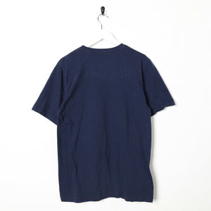 Vintage NIKE Graphic Logo T Shirt Tee Navy | Small S