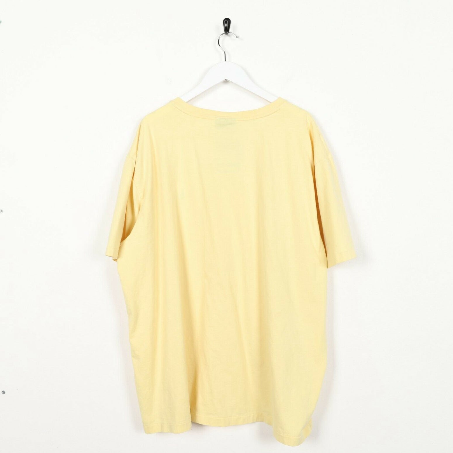 Vintage RALPH LAUREN Small Logo T Shirt Tee Yellow 2XL