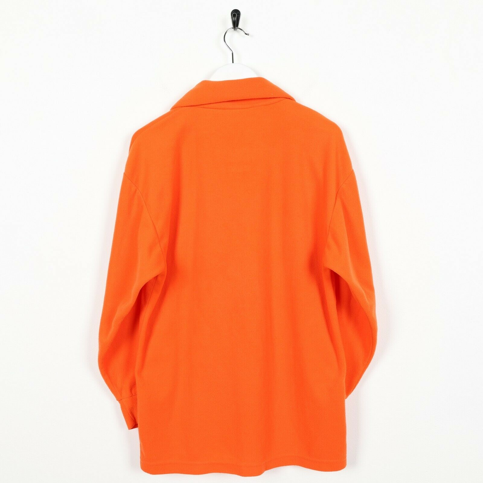 Vintage SERGIO TACCHINI Small Logo 1/4 Zip Fleece Top Orange small S