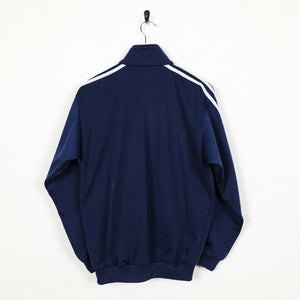 Vintage 80s ADIDAS Small Logo Track Top Jacket Blue | XS