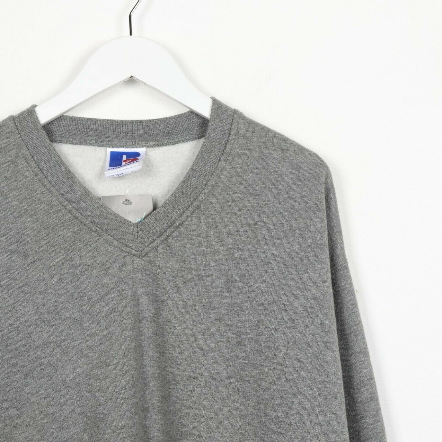 Vintage RUSSEL ATHLETIC Sweatshirt Jumper Grey XL