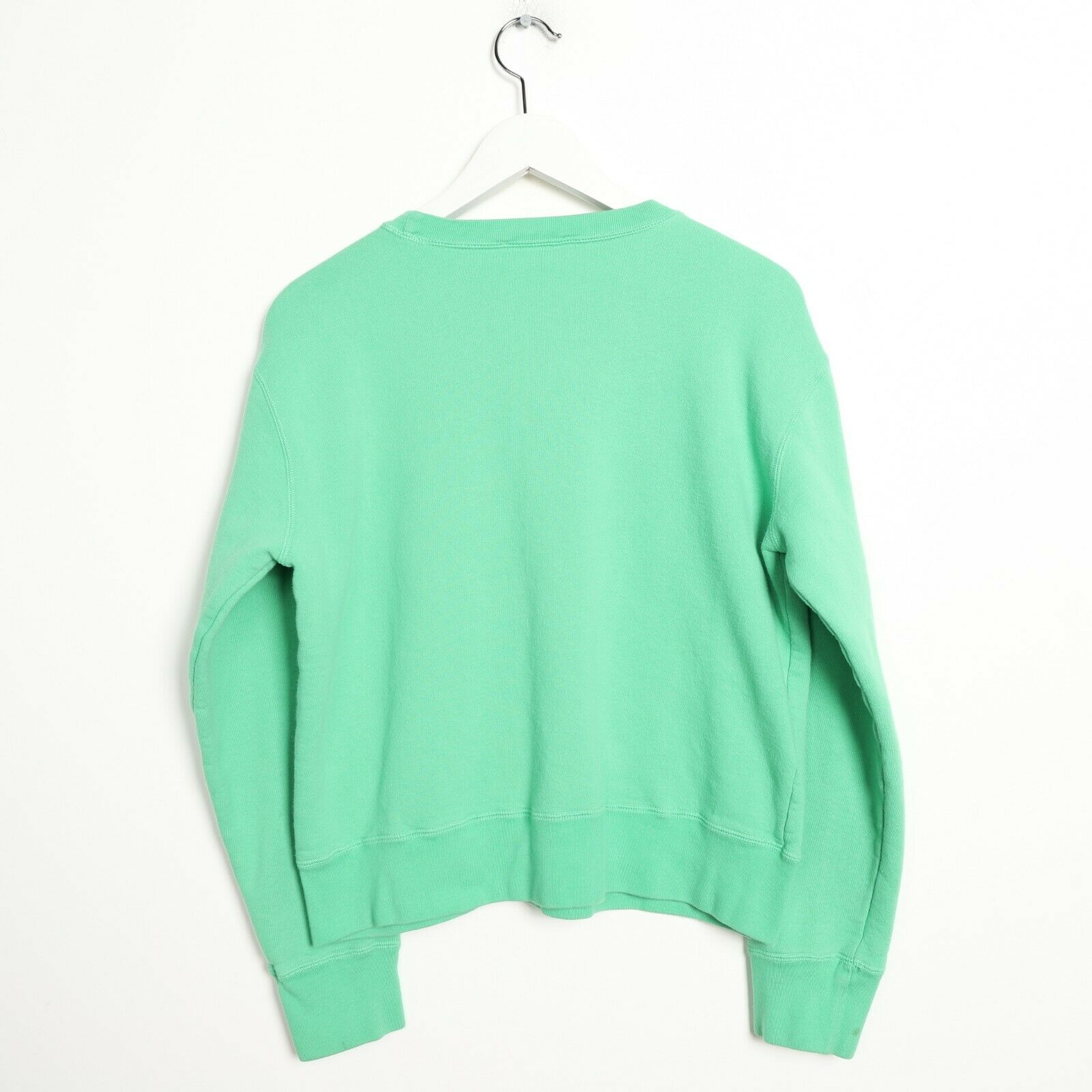 Vintage Women's RALPH LAUREN Small Logo Sweatshirt Jumper Green | Small S
