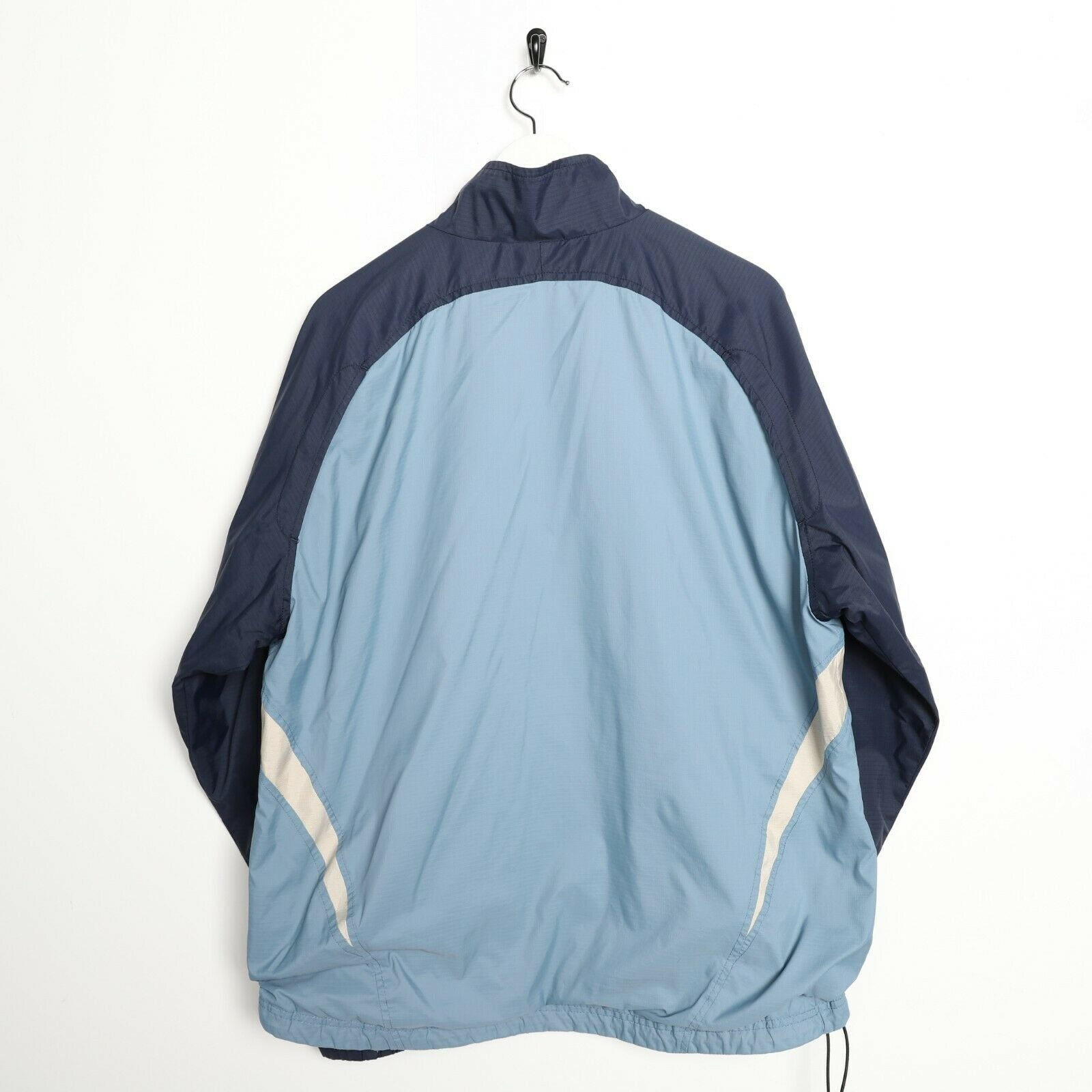 Vintage NIKE Soft Shell Windbreaker Jacket Blue | Large L