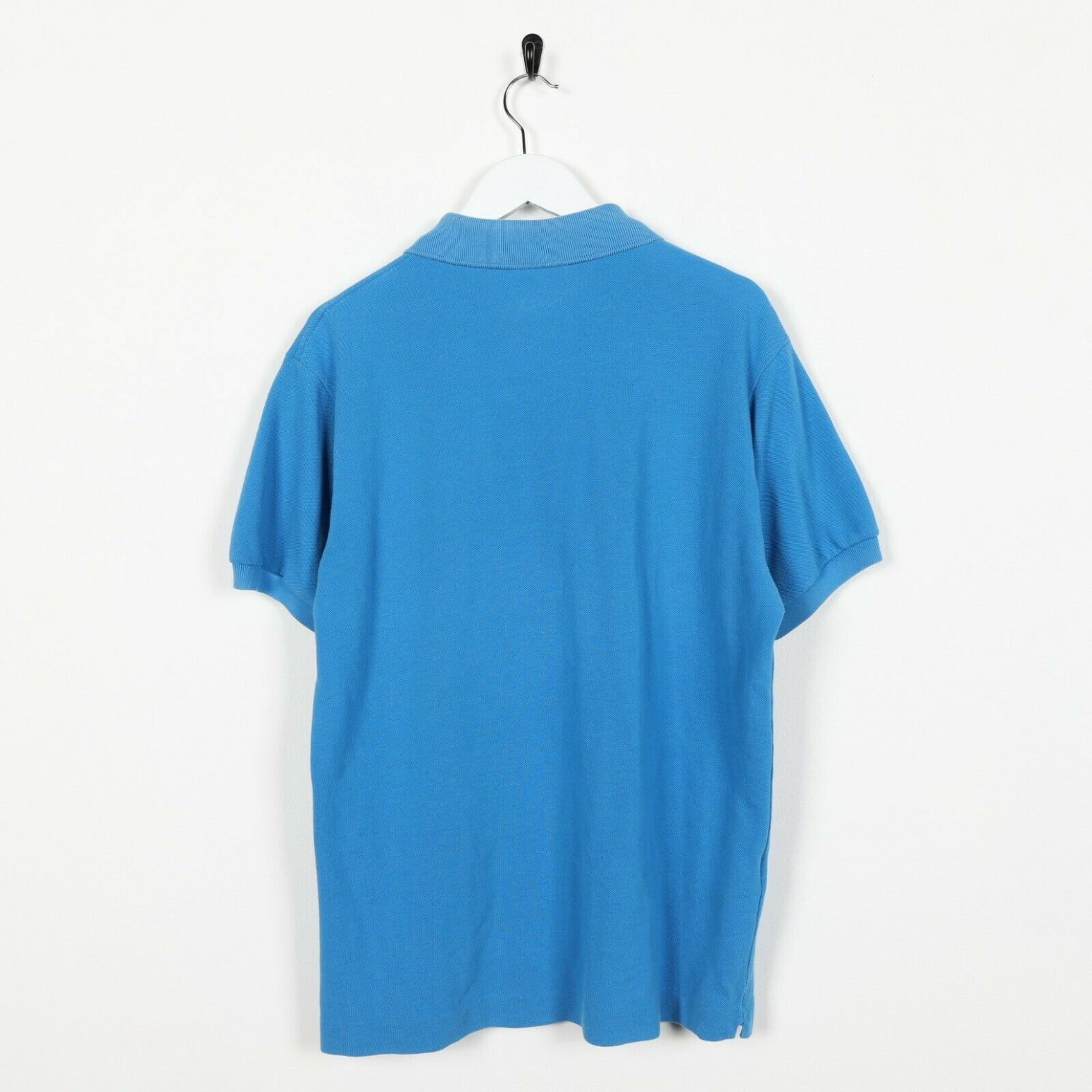 Vintage LACOSTE Small Logo Polo Shirt Top Blue small S