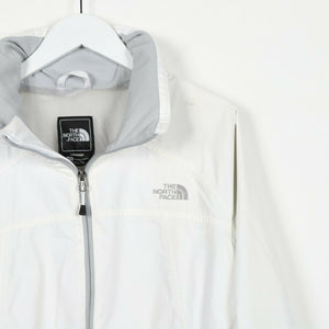 Vintage Women's THE NORTH FACE Small Logo Hyvent Coat Jacket Cream | XL