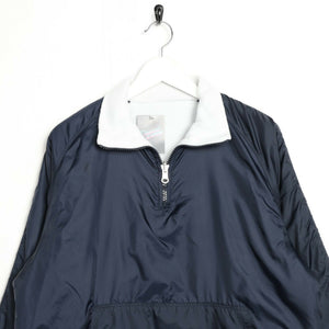 Vintage SERGIO TACCHINI Reversible Fleece Lined Jacket Blue White | Medium M