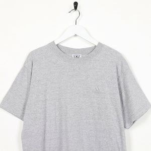 Vintage ADIDAS ORIGINALS Small Logo T Shirt Tee Grey Large L