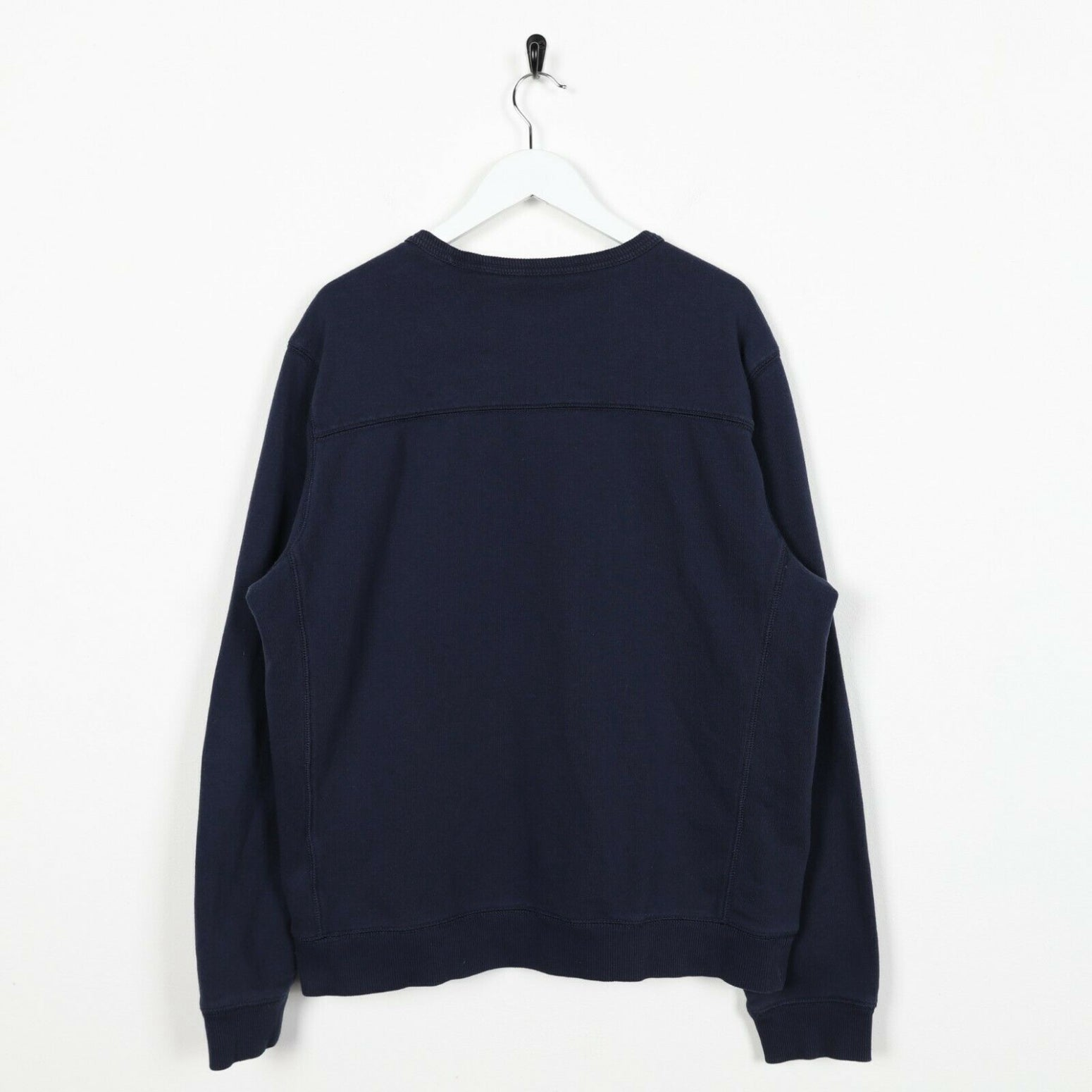 Vintage TIMBERLAND Small Logo Sweatshirt Jumper Navy Blue Large L