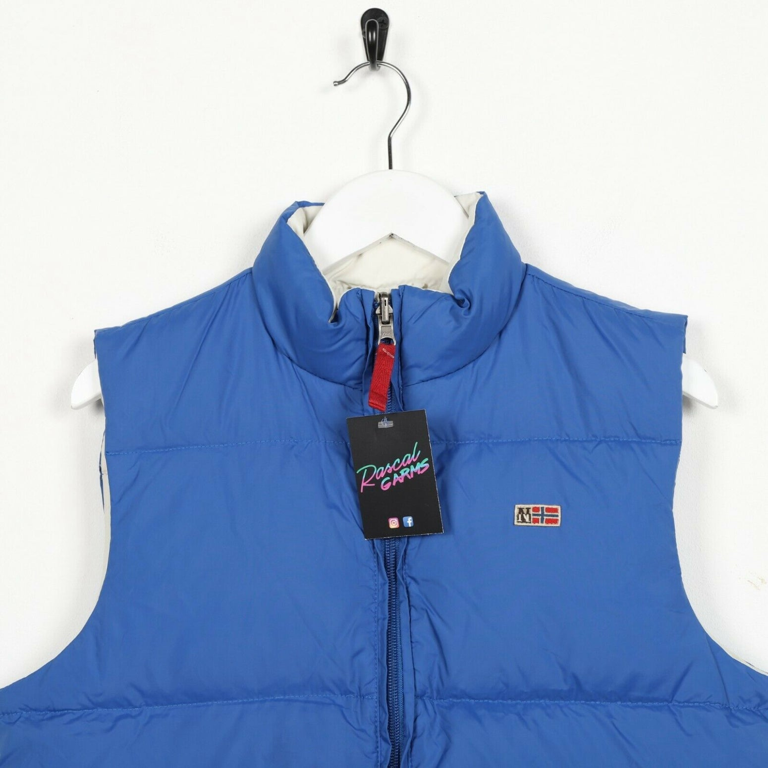 Vintage Women's NAPAPIJRI Sleeveless Down Fill Reversible Gilet Coat  | UK 12