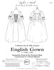 18th Century English Gown Pattern