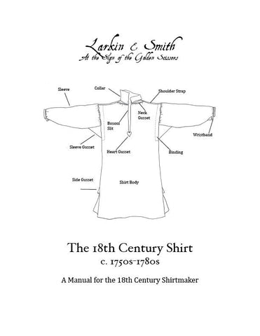 A Manual for the 18th Century Shirtmaker