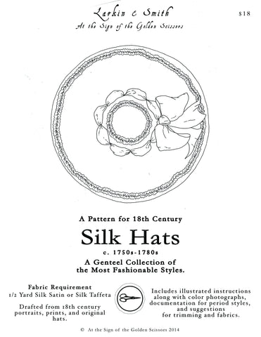 18th Century Silk Hat Pattern