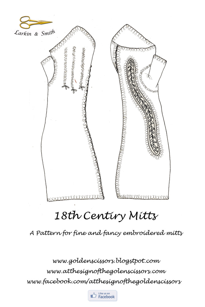 Fine and Fancy Mitt Pattern