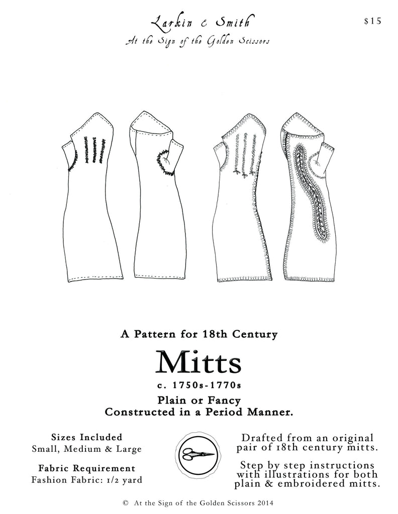18th Century Mitt Pattern