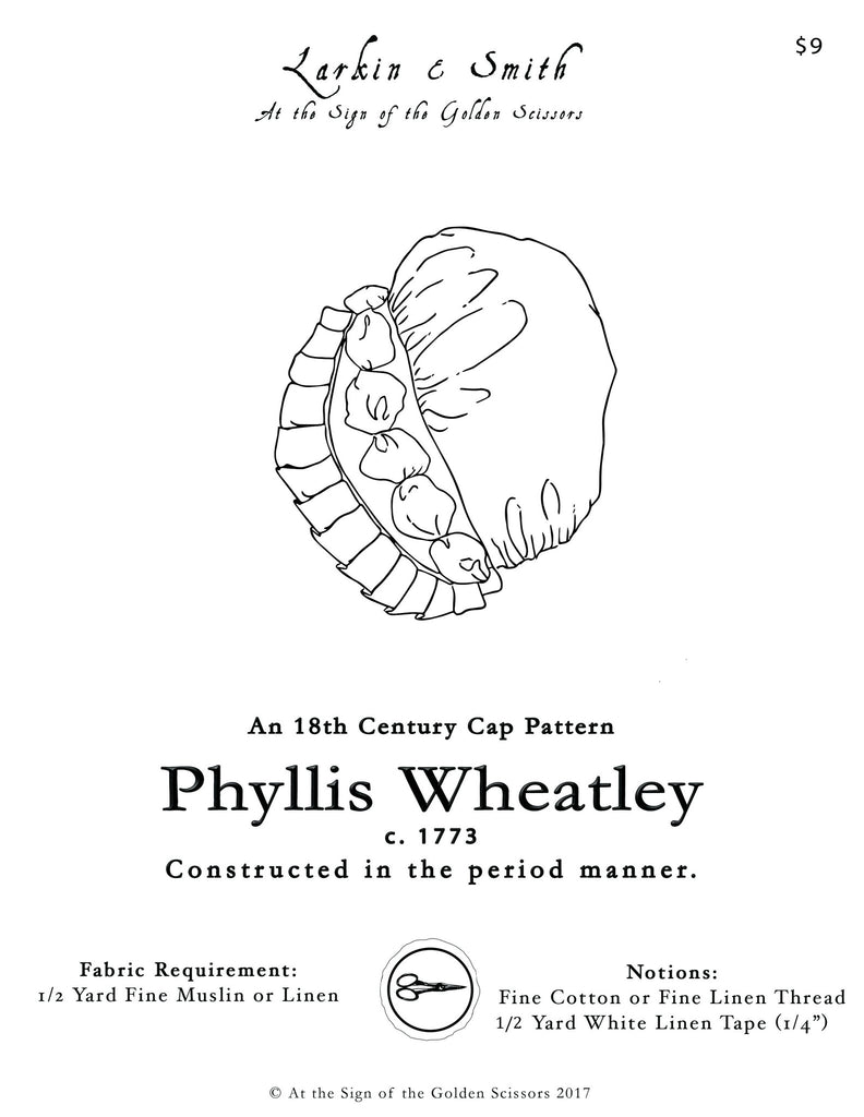 """Phyllis Wheatley"" Cap Pattern"