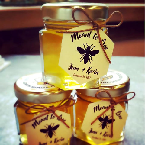 honey wedding favour