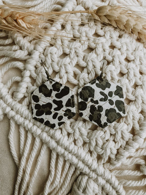 Large Animal Print (made with vegan leather)