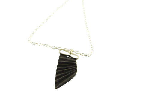 Unfold pendant - silver jewellery from Tasmania by janine combes