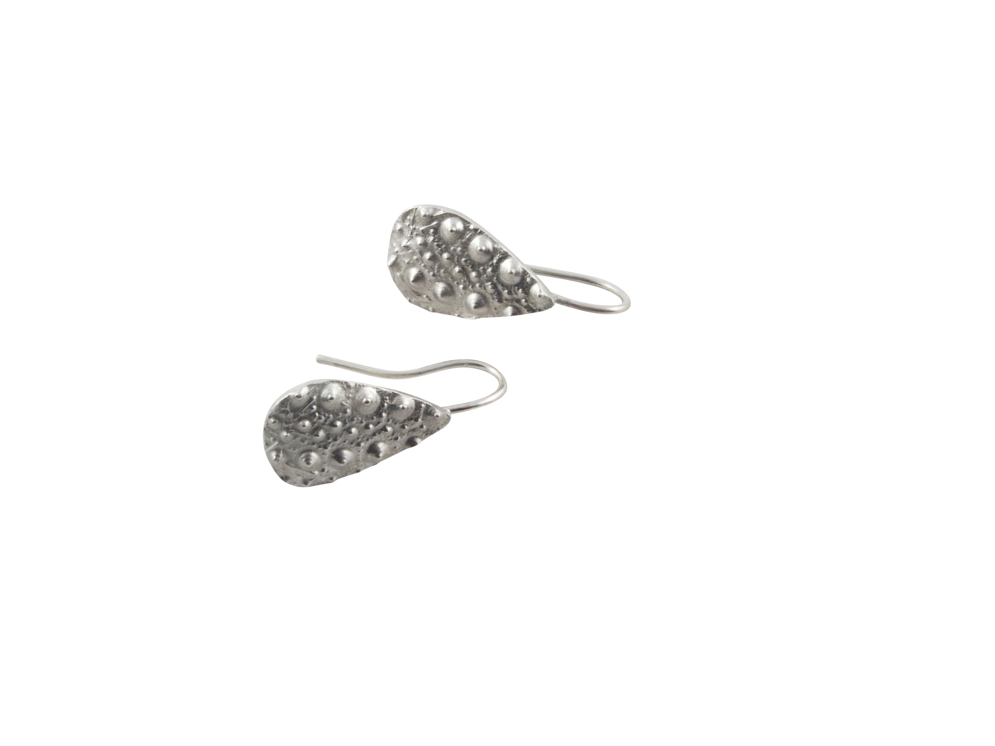 sea urchin earrings - teardrop