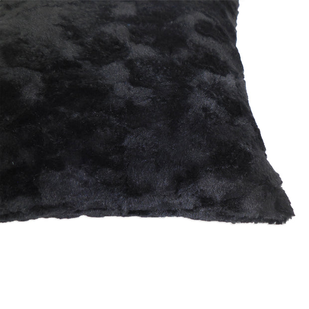 """43CM 4 X LUXURY BEIGE CREAM WHITE FAUX FUR SUEDE SUPERSOFT CUSHION COVERS 17/"""""""