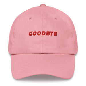 Goodbye Pink Dad hat