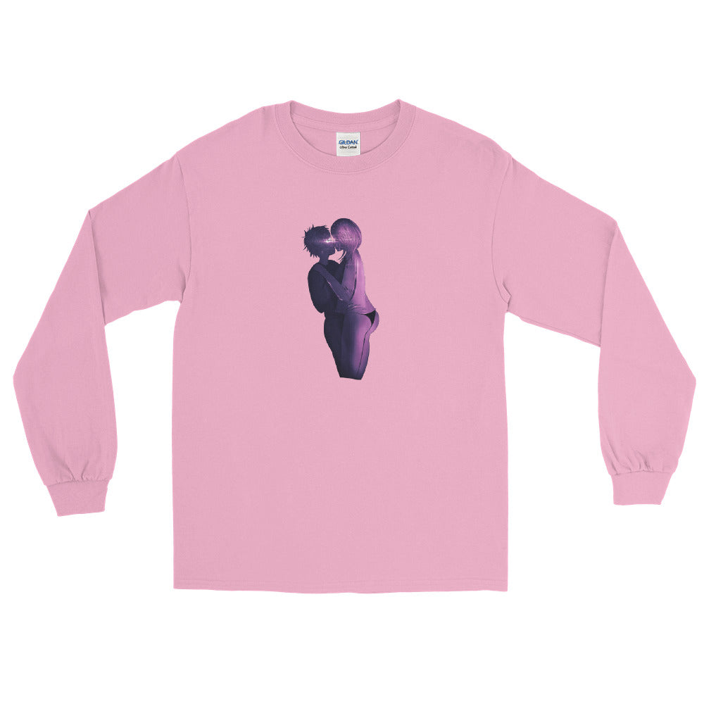 Couple Pink Long Sleeve T-Shirt
