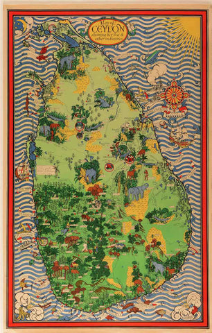Ceylon, Her Tea & Other Industries, [Original Version, Printed For The Ceylon Tea Propaganda Board], United Kingdom, 1933.
