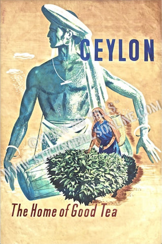 Ceylon, Home of Good Tea, India (Bombay), 1950s.