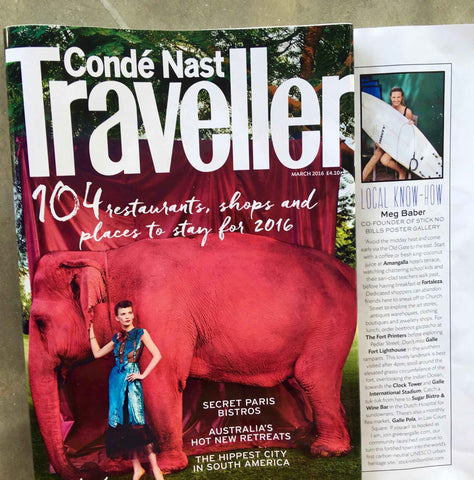"Conde Nast Traveller asks Stick No Bills Founder to provide ""Local Know How"""