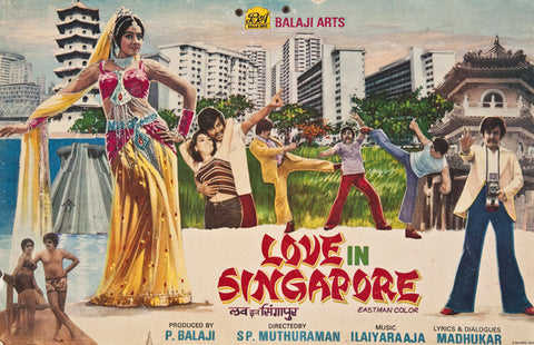 Love In Singapore, 1984.