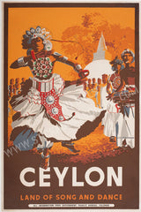Ceylon, Land of Song And Dance, Kandy, 1948.