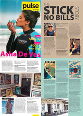 Pulse Magazine, Sri Lanka's Fashion and Lifestyle Magazine on Stick No Bills posters
