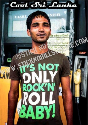 Rock And Roll, Sri Lanka, 2014.