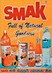 SMAK, Full of Natural Goodness, Colombo, Sri Lanka,1981.