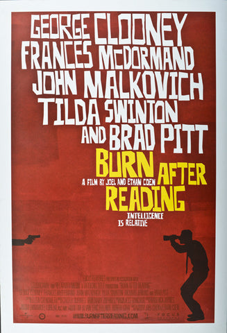 Burn After Reading. 2008.