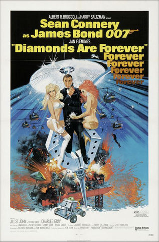 Diamonds Are Forever, 1971.