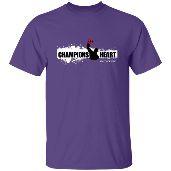 ChampionsHeart Casual T-Shirt One Side
