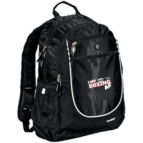 ChampionsHeart Rugged Bookbag I am Boxing AF