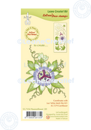 Lecreadesign Deco Clear Stamp Passion Flower 3D