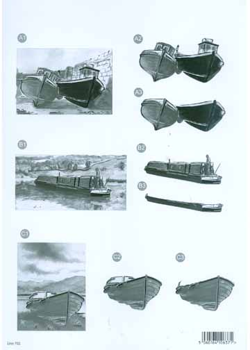 Craft UK Black & White Boats