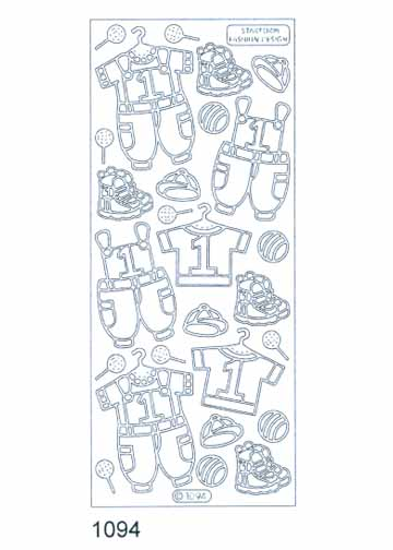 Deco Stickers - Toddler Clothes Boy